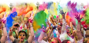 festivalul culorilor darwin
