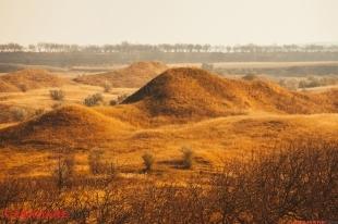Rezervatia peisagica Suta de movile | Сто холмов - Природные единства