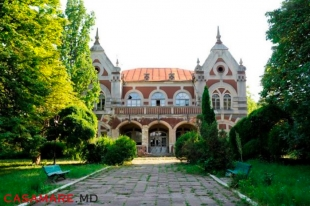 The Pommer Mansion from Țaul