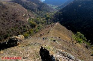 Тур Поход ''Монастырь Сахарна - Скалистый монастырь Ципова''